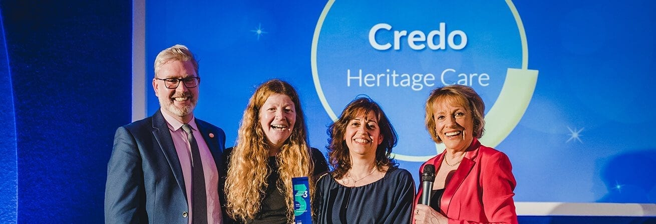 Ambient Creative Arts Project wins the Creative Arts Category in the 3rd Sector Care Awards 2019
